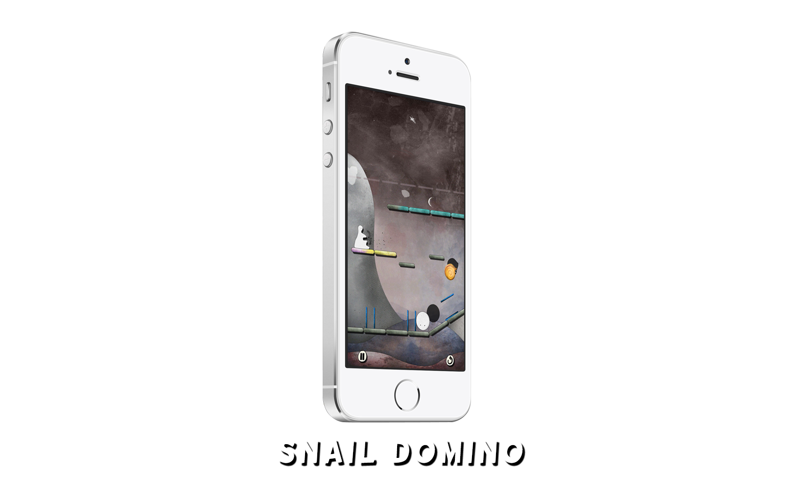 Snail Domino on Iphone